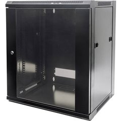 Armadio rack di rete da 19 (L x A x P) 570 x 770 x 450 mm 15 HE Nero (RAL 9005)