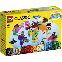 LEGO® CLASSIC Una volta intorno al mondo