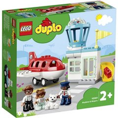 LEGO® DUPLO® Aereo e aeroporto