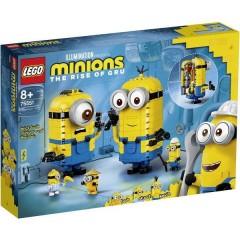 LEGO® Minions Kit di montaggio per personaggi Minion con nascondiglio