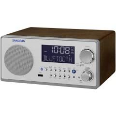 Radio da tavolo FM, AM AUX, Bluetooth Noce