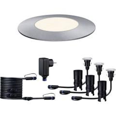 Sistema dilluminazione Plug&Shine Kit base lampade LED incasso esterni Kit da 3 LED (monocolore) 7.5 W