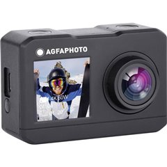 Action Cam Action camera 4K, Dual-Display, Impermeabile, WLAN, Rallentatore