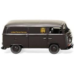 H0 Volkswagen Vagone a box T2 UPS
