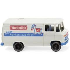 H0 Mercedes Benz L 406 vagone a box Westmilch