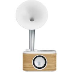 Euphonic 450 (WR-45 White) Radio da tavolo FM AUX, Bluetooth ricaricabile Bianco