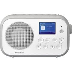 Traveller-420 (DPR-42 W/G) Radio portatile DAB+, FM Bluetooth Bianco, Grigio