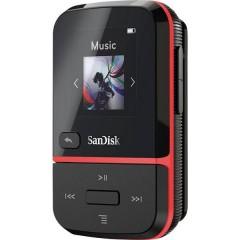 Clip Sport Go MP3-Player 32 GB Rosso Clip di fissaggio, Radio FM, Registrazione vocale