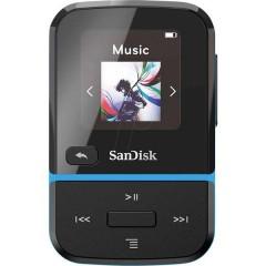 Clip Sport Go MP3-Player 32 GB Blu Clip di fissaggio, Radio FM, Registrazione vocale