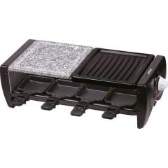 PK-RF 120 Raclette regolatore di temperatura, Protezione da surriscaldamento, 8 vaschette, 8 forchette da