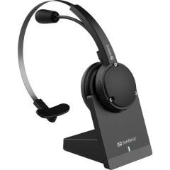 Cuffie Bluetooth Senza filo Cuffia On Ear Nero (cromato)