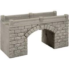 H0 Ponte ad arco in pietra (L x L x A) 157 x 58 x 78 mm