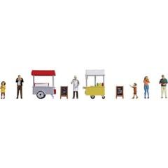 Mondo a tema di personaggi H0 Ice and Hot Dog