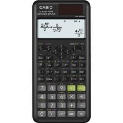 Casio Calcolatrice tecnica scientifica Nero Display (cifre): 12 a energia solare, a batteria (L x A x P)