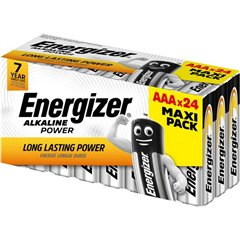 Energizer Power Batteria Ministilo (AAA) Alcalina/manganese 1.5 V 24 pz.