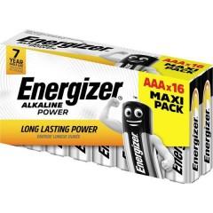 Energizer Power Batteria Ministilo (AAA) Alcalina/manganese 1.5 V 16 pz.