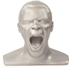Oehlbach Scream Unlimited Plus Supporto poggia cuffie Adatto per:Cuffie On Ear, Cuffie Over Ear Argento (opaco)
