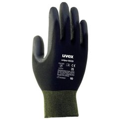 Uvex uvex unilite / unipur Poliammide, Schiuma di nitrile Guanto per meccanica e assemblaggio Taglia: 10 EN 388