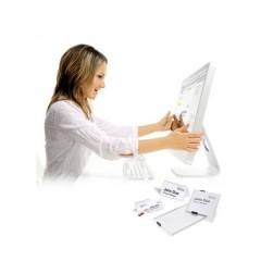 Durable Cartellino portanome a incastro 30 mm x 65 mm Bianco 360 Pz/Conf