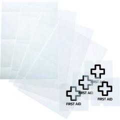 Durable Insegna della porta (L x A) 105 mm x 105 mm Trasparente