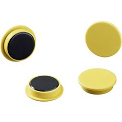 Durable Magnete (Ø) 21 mm tondo Giallo 1 KIT