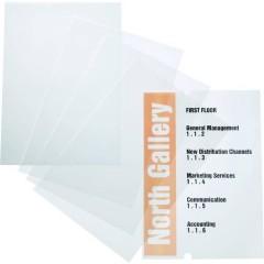 Durable Insegna della porta (L x A) 210 mm x 297 mm Trasparente