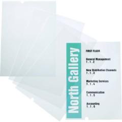 Durable Insegna della porta (L x A) 297 mm x 420 mm Trasparente
