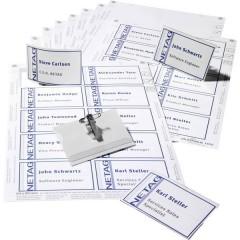 Durable Cartellino portanome (L x A) 90 mm x 54 mm spilla di sicurezza, morsetto combinato 20 Pz/Conf 1