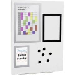 Durable Pannello magnetico (L x A x P) 600 x 450 x 15 mm Grigio