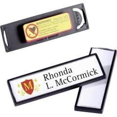 Durable Cartellino portanome (L x A) 67 mm x 17 mm magnete 25 Pz/Conf 1 KIT