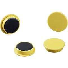 Durable Magnete (Ø) 32 mm tondo Giallo 1 KIT