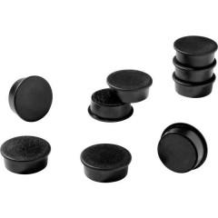 Durable Magnete (Ø) 37 mm tondo Nero 1 KIT