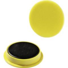 Durable Magnete (Ø) 37 mm tondo Giallo 1 KIT