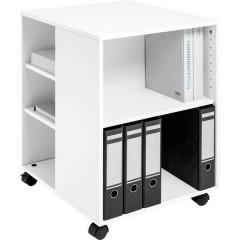 Durable Carrello multifunzione Bianco (L x A x P) 528 x 748 x 592 mm 1 pz.
