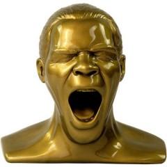 Oehlbach Scream Unlimited Plus Supporto poggia cuffie Adatto per:Cuffie On Ear, Cuffie Over Ear Oro