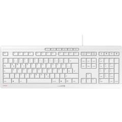 CHERRY Stream USB Tastiera Tedesco, QWERTZ, Windows® Grafite