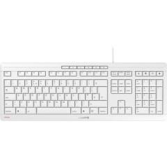 CHERRY Stream USB Tastiera Inglese UK, QWERTY, Windows® Grafite