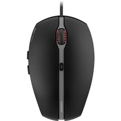 CHERRY GENTIX 4K USB Mouse Ottico Illuminato Nero