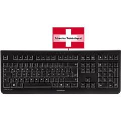CHERRY Tastiera Svizzera, QWERTY, Windows® KC 1000 Nero