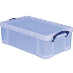 Really Useful Box Contenitore multiuso Trasparente 12 l (L x A x P) 465 x 155 x 270 mm 1 pz.