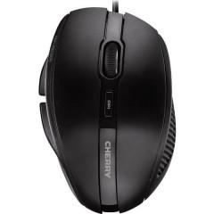 CHERRY MC3000 USB Mouse Ottico Ergonomico Nero
