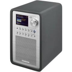 Sangean (SmartLink 1) Radio Internet da tavolo DAB+, FM AUX, Internetradio, USB Spotify, compatibile DLNA Grigio