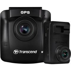 Transcend DrivePro 620 Dashcam Max. angolo di visuale orizzontale=140 ° Batteria ricaricabile, Display, Dual camera,