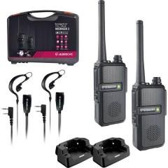 Albrecht Tectalk Worker 3 2er Radio PMR portatile Kit da 2