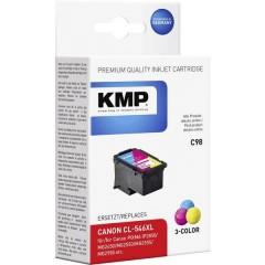 KMP Cartuccia Compatibile sostituisce Canon CL-546XL Ciano, Magenta, Giallo C98