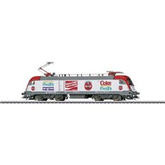 Märklin Locomotiva elettrica H0 BR 182 della Coca-Cola ® Company