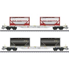 Märklin Kit di 2 vagoni container H0 il Hartog