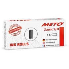 METO Rullo inchiostro per prezzatrice Nero