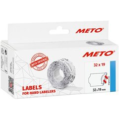 METO Etichetta per prezzo Permanente Larghezza etichette: 32 mm Altezza etichette: 19 mm Rosso 1 pz.
