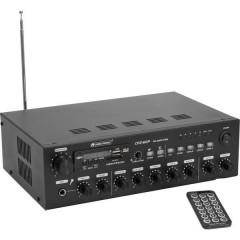 Omnitronic CPZ-60P ELA Amplificatore PA 60 W 4 canali 4 zone